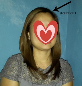 See how uneven my hair color is :(