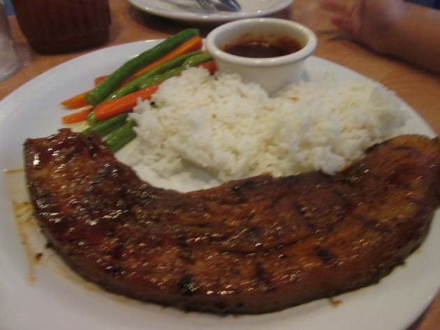 Yes! The Porkchop is big too! Only Php200.00. =)